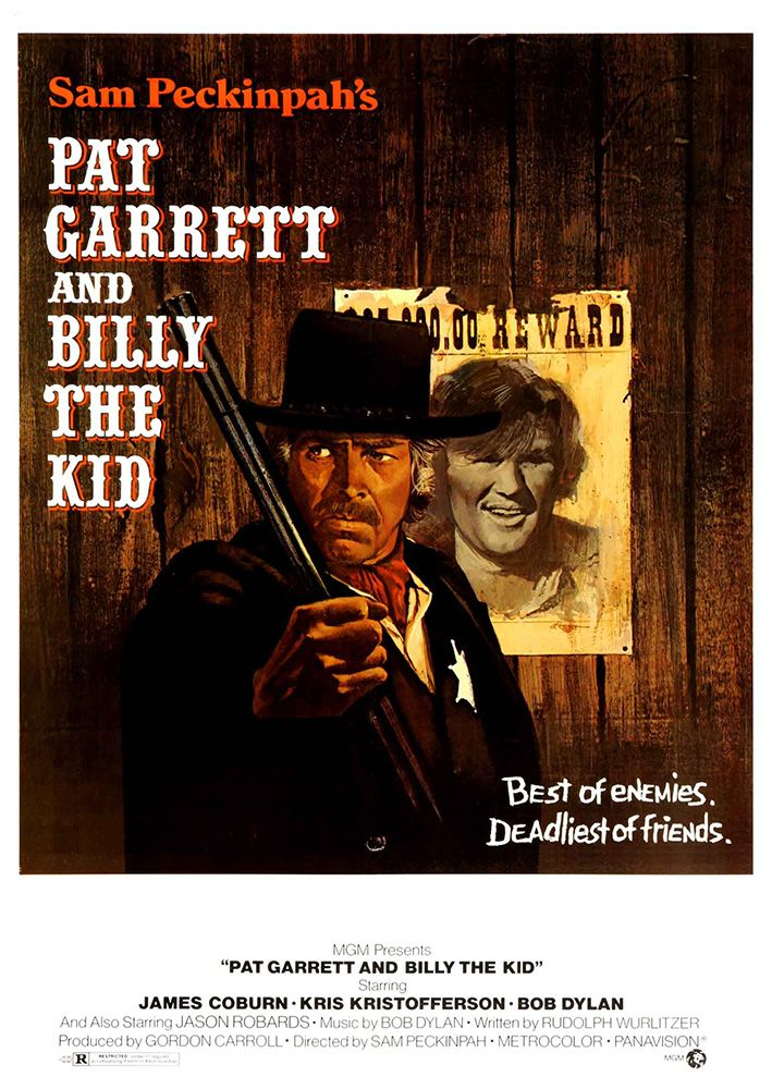 affiches posters et images de pat garrett et billy le kid 1973