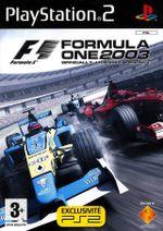 Jaquette Formula One 2003