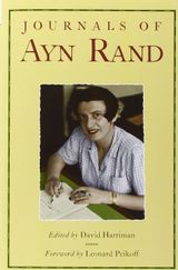 Couverture Journals of Ayn Rand