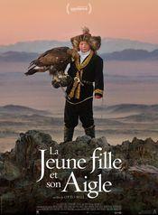 Affiche La jeune fille et son aigle