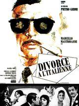 Affiche Divorce à l'italienne