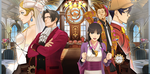 Jaquette Phoenix Wright : Ace Attorney - Spirit of Justice : Turnabout Across Time