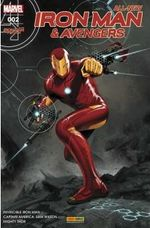 Couverture All-New Iron Man & the Avengers, tome 2
