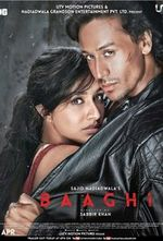 Affiche Baaghi: A Rebel For Love