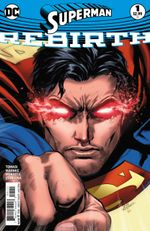Couverture Superman: Rebirth #1