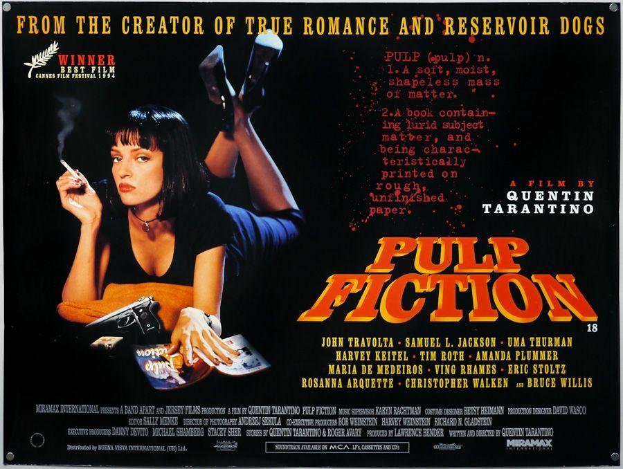 Affiches, posters et images de Pulp Fiction (1994