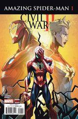 Couverture Civil War II: Amazing Spider-Man (2016 - Present)