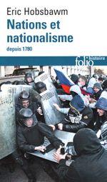 Couverture Nations et nationalismes