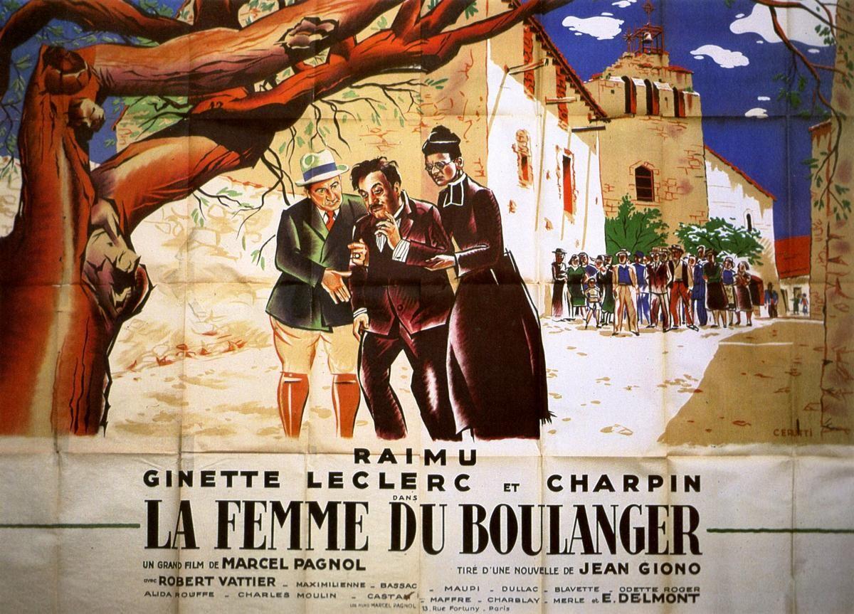 Affiches, posters et images de La Femme du boulanger (1938)