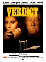 Affiche Verdict