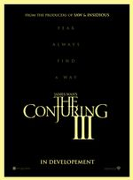 Affiche Conjuring 3