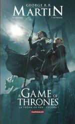Couverture A Game of Thrones - Le Trône de Fer, tome 1