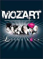 Affiche Mozart, l'opéra rock