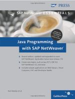Couverture Java programming with SAP netweaver
