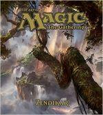 Couverture The Art of Magic the Gathering : Zendikar