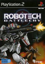 Jaquette Robotech : Battlecry