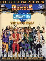 Affiche Royal Rumble 1992