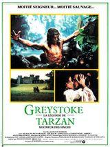 Affiche Greystoke, la légende de Tarzan