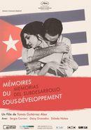 Affiche Mémoires du sous-développement