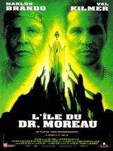 Affiche L'Île du Dr. Moreau