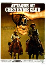Affiche Attaque au Cheyenne Club