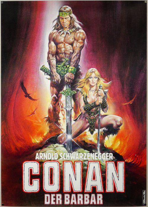 Affiches, posters et images de Conan le Barbare (1982