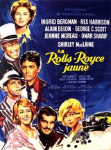 Affiche La Rolls-Royce jaune
