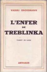 Couverture L'enfer de Treblinka