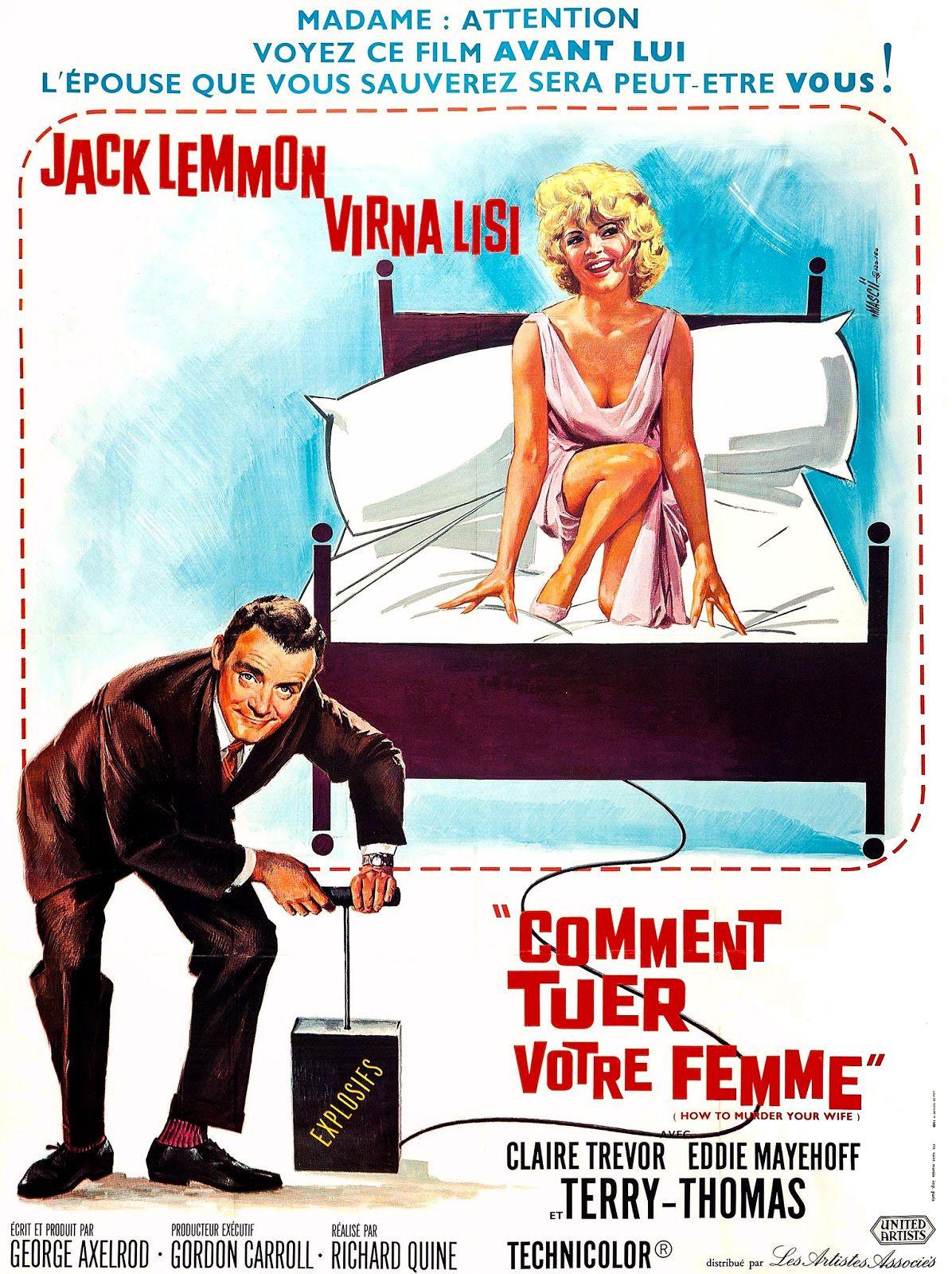 Comment tuer votre femme film 1965 senscritique - Comment se tuer efficacement ...