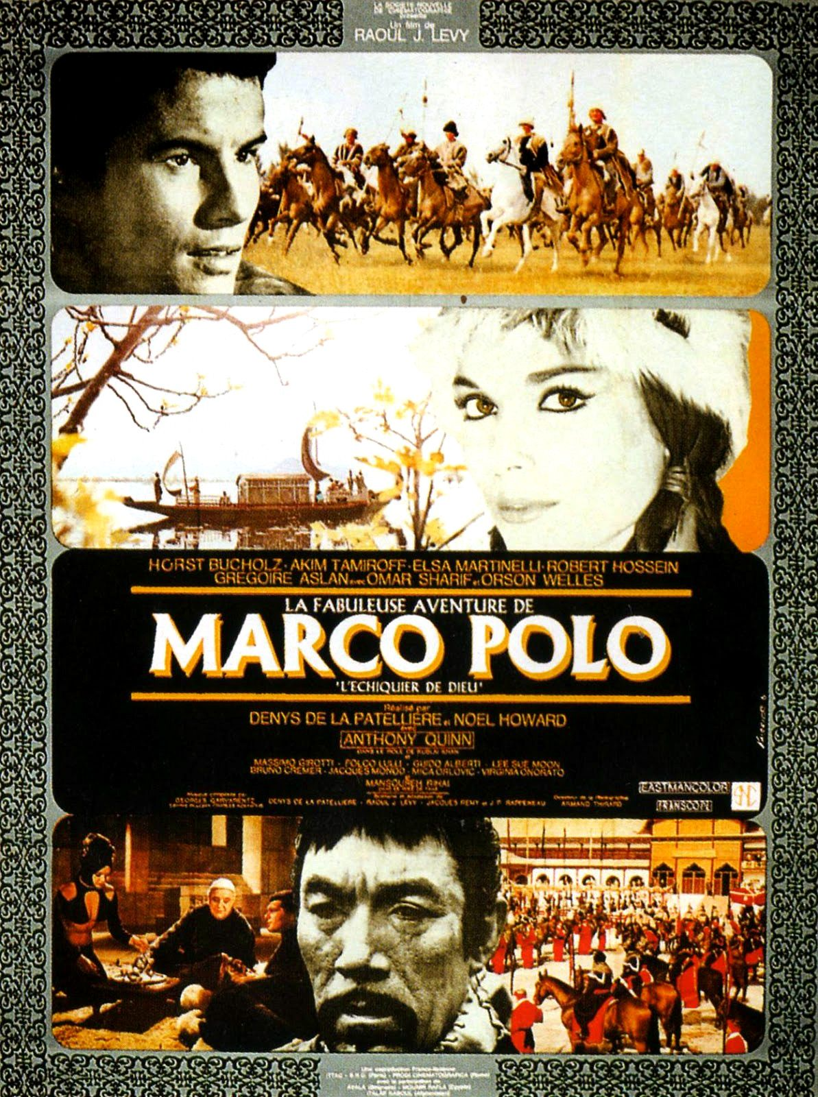 la fabuleuse aventure de marco polo film 1965. Black Bedroom Furniture Sets. Home Design Ideas