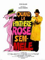 Affiche Quand la Panthère rose s'emmêle