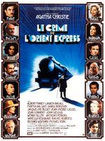 Affiche Le Crime de l'Orient-Express