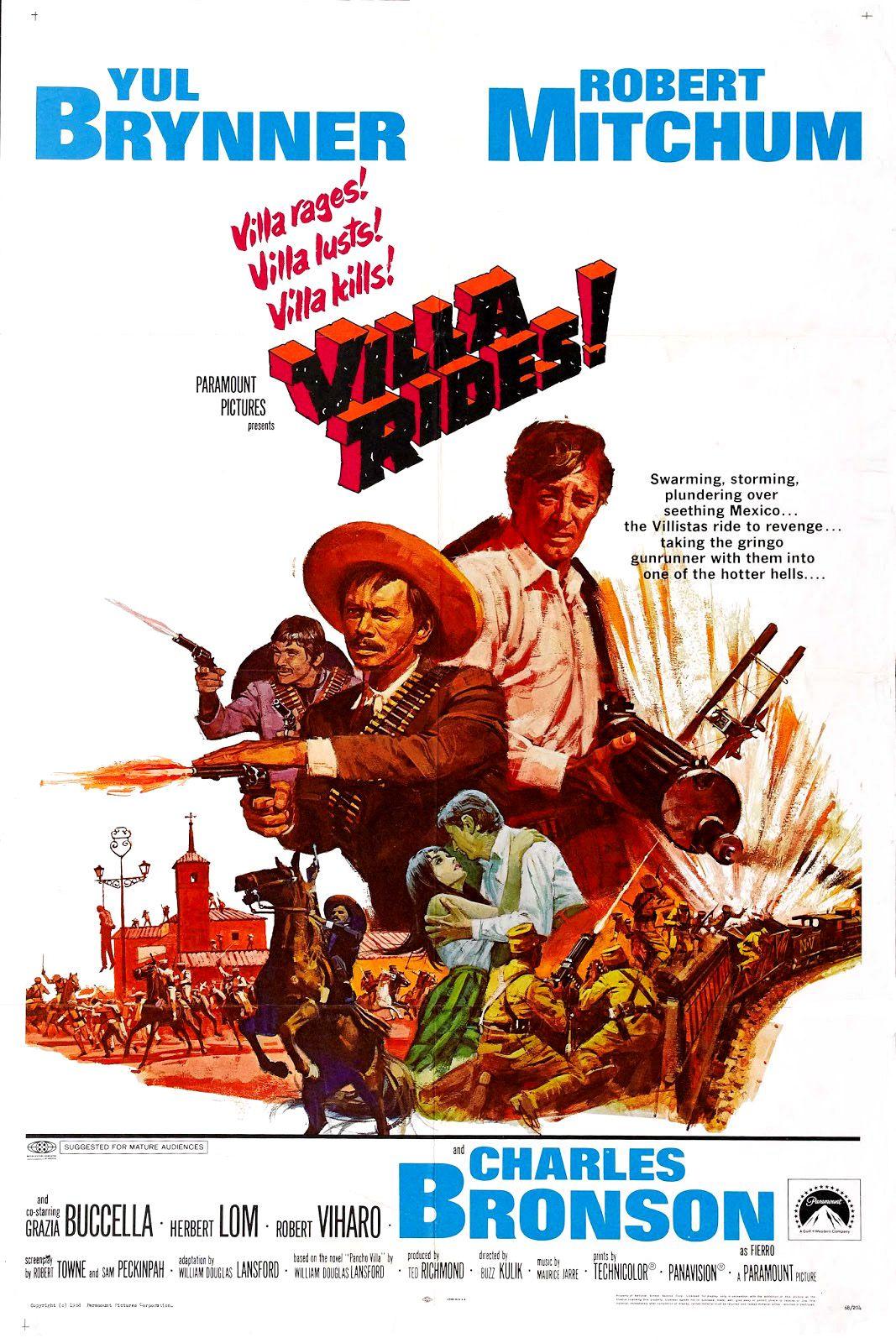 Pancho Villa Film 1968 Senscritique