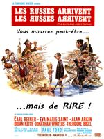 Affiche Les Russes Arrivent, Les Яusses Aяяiveиt