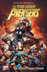 Couverture New Avengers Vs Dark Avengers - New Avengers, tome 2