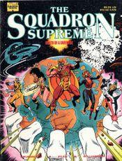 Couverture Squadron Supreme: Death of a Universe
