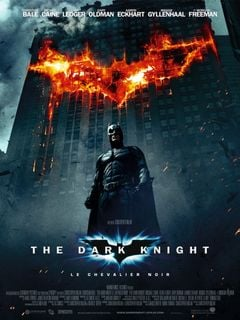 Affiche The Dark Knight, le chevalier noir