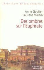 Couverture Des ombres sur l'Euphrate
