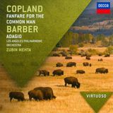 Pochette Copland: Fanfare for the Common Man / Barber: Adagio