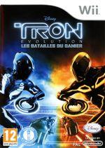 Jaquette Tron Evolution : Les Batailles du damier