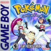 Jaquette Pokémon Team Rocket Edition