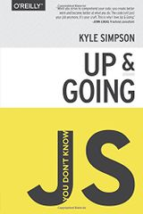 Couverture You Don't Know JS - Up & Going