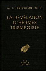 Couverture La Révélation d'Hermès Trismégiste
