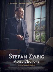 Affiche Stefan Zweig, adieu l'Europe