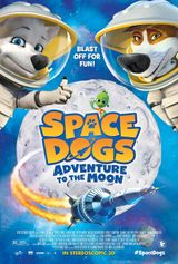 Affiche Space Dogs Adventure to the Moon