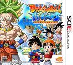 Jaquette Dragon Ball Fusions