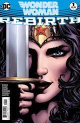 Couverture Wonder Woman: Rebirth #1