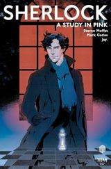 Couverture Sherlock: A Study In Pink #3