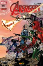 Couverture All-New Avengers, tome 3