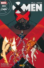 Couverture All-New X-Men, tome 3